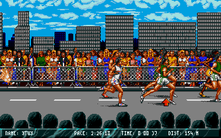 Screenshot of International Sports Challenge