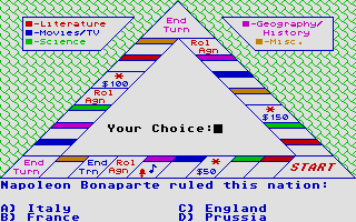 Thumbnail of other screenshot of Trivial Triangle