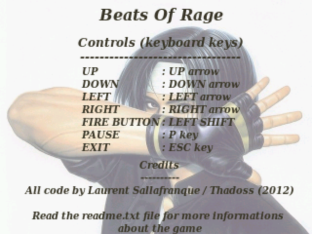 Thumbnail of other screenshot of Beats of Rage