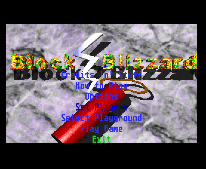 Screenshot of Block Blizzard