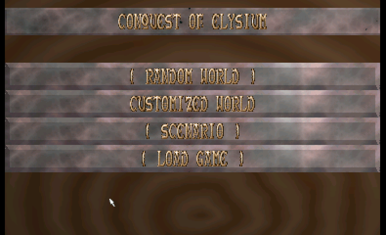 Thumbnail of other screenshot of Conquest Of Elysium
