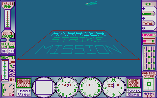 Thumbnail of other screenshot of Harrier Strike Mission