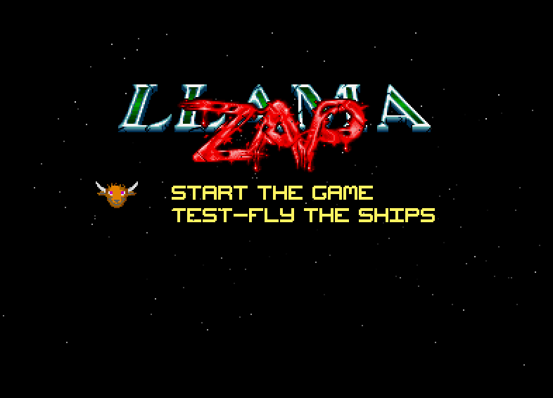 Screenshot of Llamazap