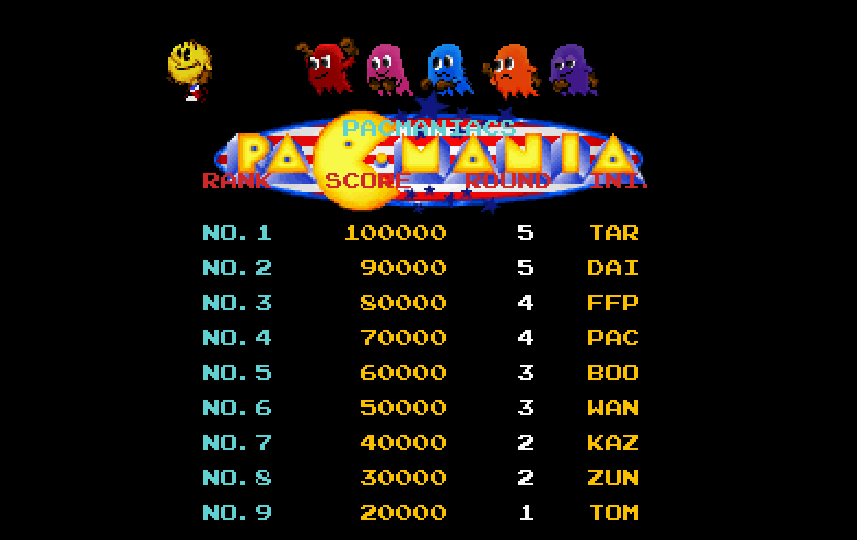 Thumbnail of other screenshot of Pacmania Extended