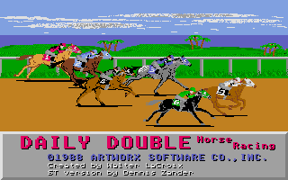 Screenshot of Daily Double Horse Racing