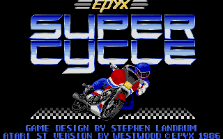 Screenshot of Super Cycle