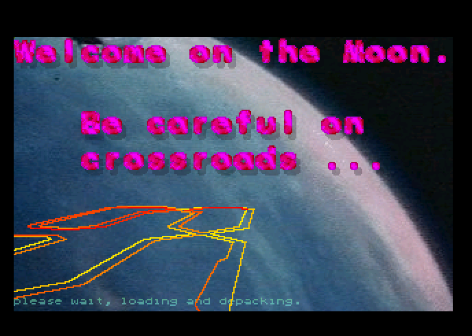 Thumbnail of other screenshot of Moon Speeder