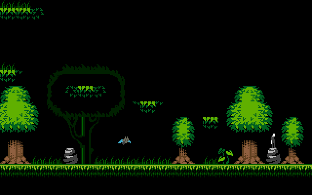 The Jungle level. Watch out for that little batman!