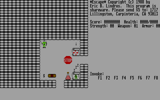 Large screenshot of Escape
