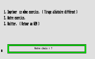 Large screenshot of Exercises