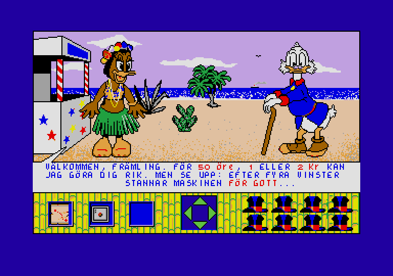 Large screenshot of Picsou Chasseur de Tresor