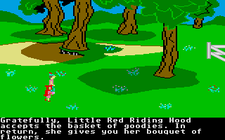 Screenshot of King's Quest 2 - Romancing the Throne