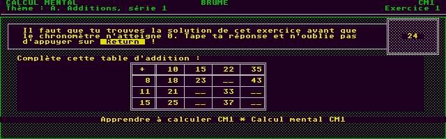 Thumbnail of other screenshot of Calcul CM1