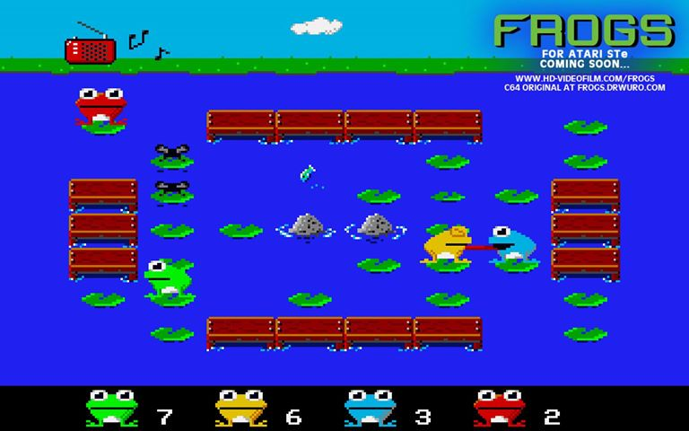 Screenshot of Frogs