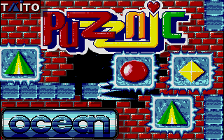 Screenshot of Puzznic