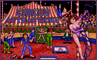 Screenshot of Circus Attractions