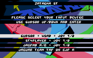 Large screenshot of Zatacka ST