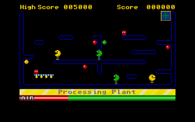 Pacman makes a cameo in one of the later levels.