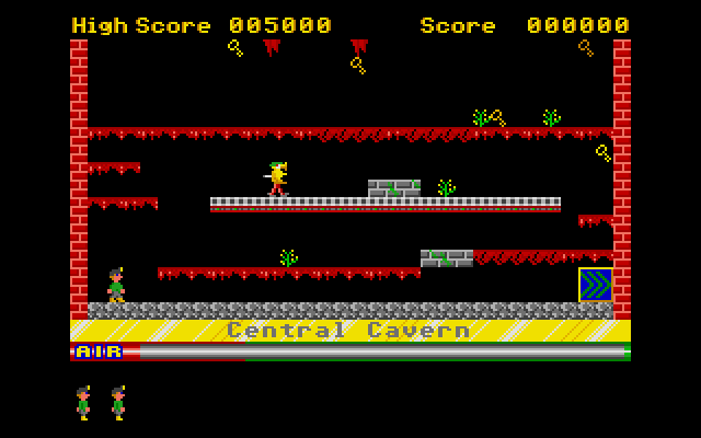 The first cavern. Without exaggeration I must have tried this screen over 25 times before I eventually completed it!