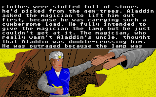 Large screenshot of Tales From the Arabian Nights