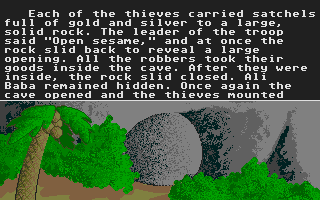 Screenshot of Tales From the Arabian Nights