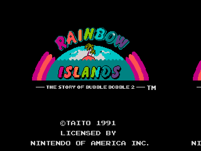 Screenshot of Rainbow Islands - Godlenes
