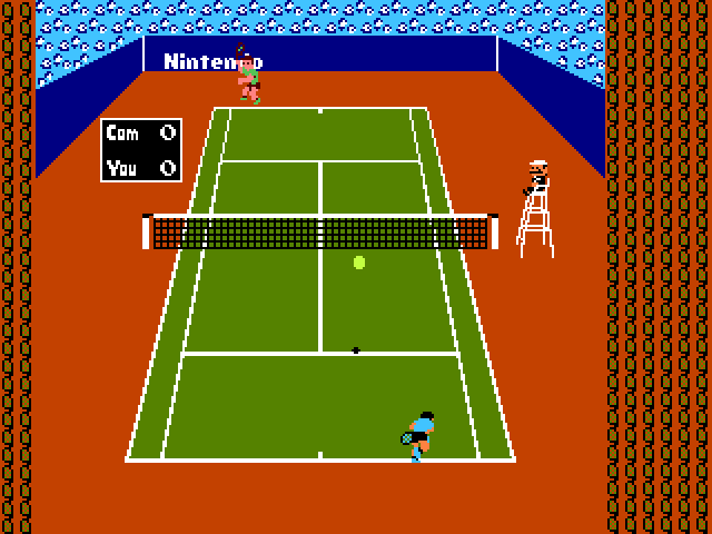 Thumbnail of other screenshot of Tennis - Godlenes