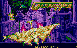 Screenshot of Goldrunner