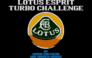 Thumbnail of other screenshot of Lotus Esprit Turbo Challenge