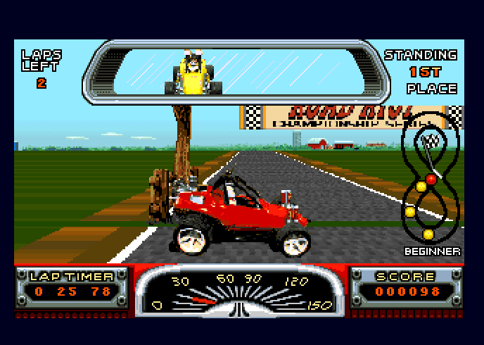 Large screenshot of Road Riot 4WD