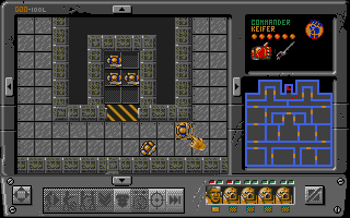 Screenshot of Space Crusade