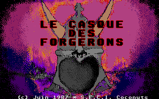 Screenshot of Dungeon - Le Casque Des Forgerons