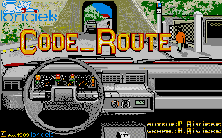 Screenshot of Code Route