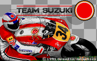 Screenshot of Team Suzuki