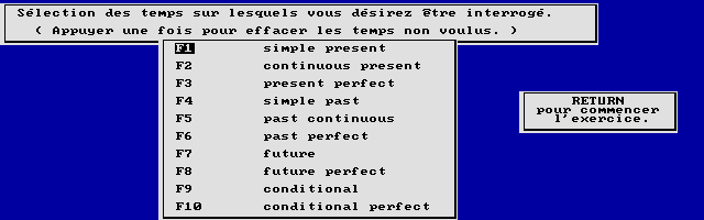 Thumbnail of other screenshot of Didact English / La Concordance Des Temps (Lycée)