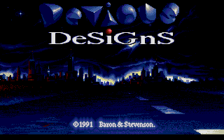 Large screenshot of Devious Designs
