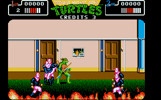 Thumbnail of other screenshot of Teenage Mutant Hero Turtles - The Coin Up