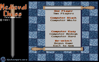 Thumbnail of other screenshot of Medieval Chess