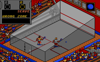 Screenshot of Jahangir Khan's World Championship Squash