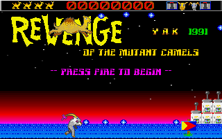Large screenshot of Revenge of the Mutant Camels