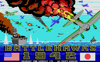 Large screenshot of Battlehawks 1942