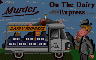 Thumbnail of other screenshot of Murder On Dairy Express
