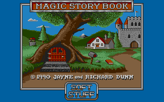 Large screenshot of Magic Story Book