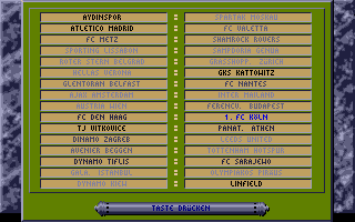 Screenshot of Bundesliga Manager Professional