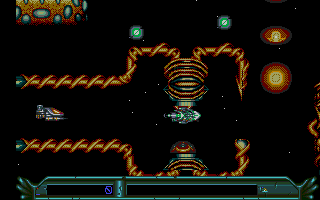 Screenshot of Armalyte - The Final Run