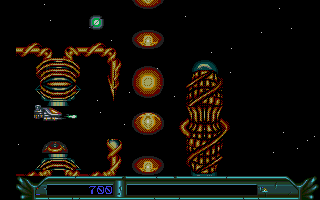Large screenshot of Armalyte - The Final Run