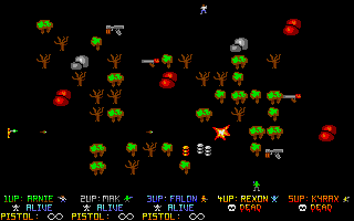 Screenshot of Alien Busters IV
