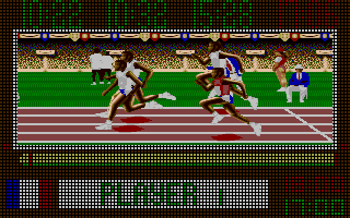 Screenshot of Carl Lewis Challenge