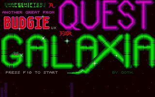 Large screenshot of Quest For Galaxia, A