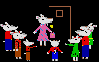 Thumbnail of other screenshot of Wolf And The 7 Kids, The